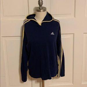Adidas hoodie/short set
